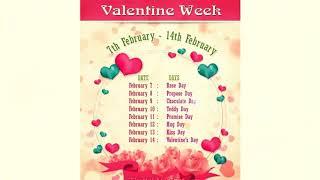 Valentine's Day Specials status 2019 / Love studio