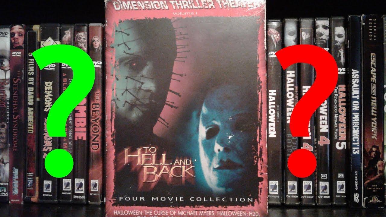 weird halloween/hellraiser dvd box set??? - youtube