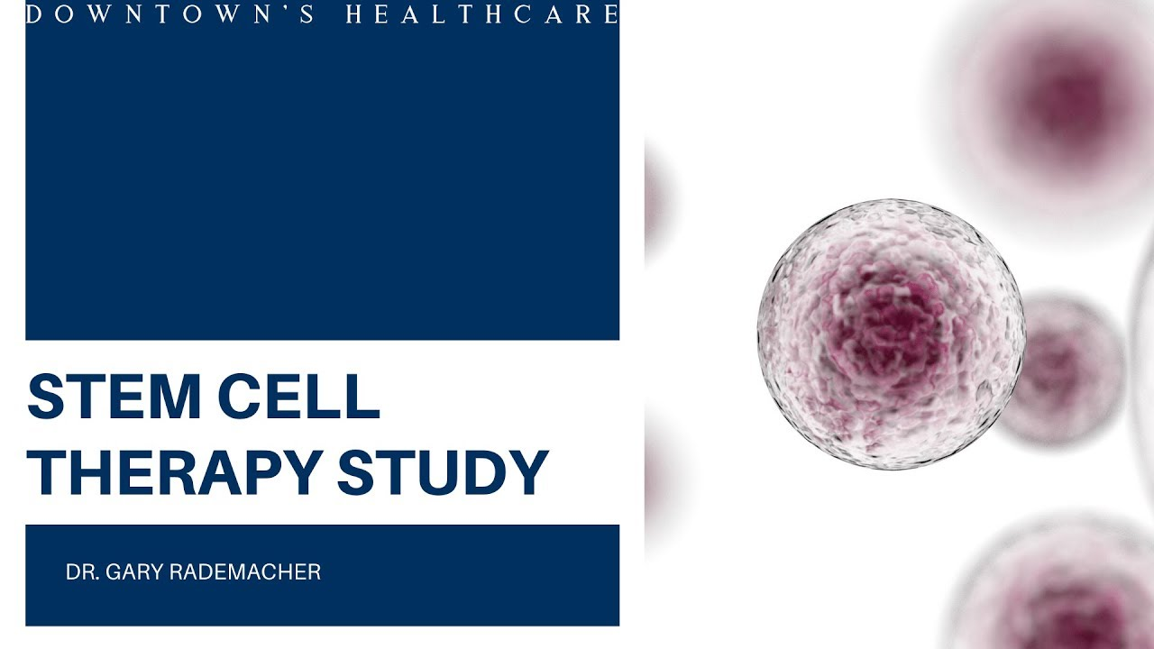 HAVE YOU HEARD ABOUT THIS STEM CELL THERAPY STUDY? - YouTube