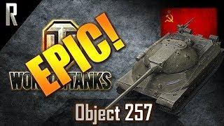 ► World of Tanks - Epic Games: Object 257 [13 kills, 6496 dmg]