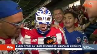 Pasión Fútbol  Junior Prendió El Carnaval En Una Noche De Júbilo Y Llena De Goles