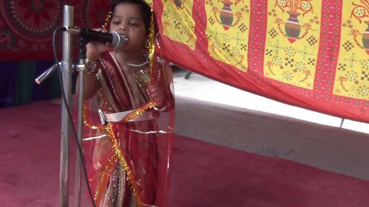 FANCY DRESS COMPETITION 2013 LKG GIRL AS MARWARI RAJASTHANI BRIDE ...