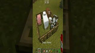 Animal Trap -2 In Minecraft || #shorts