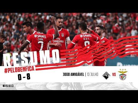 HIGHLIGHTS: Académica 0-8 SL Benfica