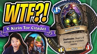 This Deck ONLY Has Boom Bots... | Chapter 5 Dalaran Heist | Rise of Shadows | Hearthstone