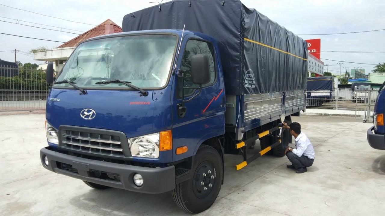 Xe tải hyundai 7.5 tấn MIGHTY 2018 giá xe thùng 725 triệu/ Zalo.gọi 096 669 4414 - YouTube