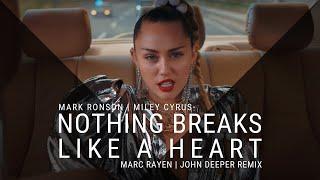 MARK RONSON FT. MILEY CYRUS - NOTHING BREAKS LIKE A HEART (MARC RAYEN & JOHN DEEPER REM ...