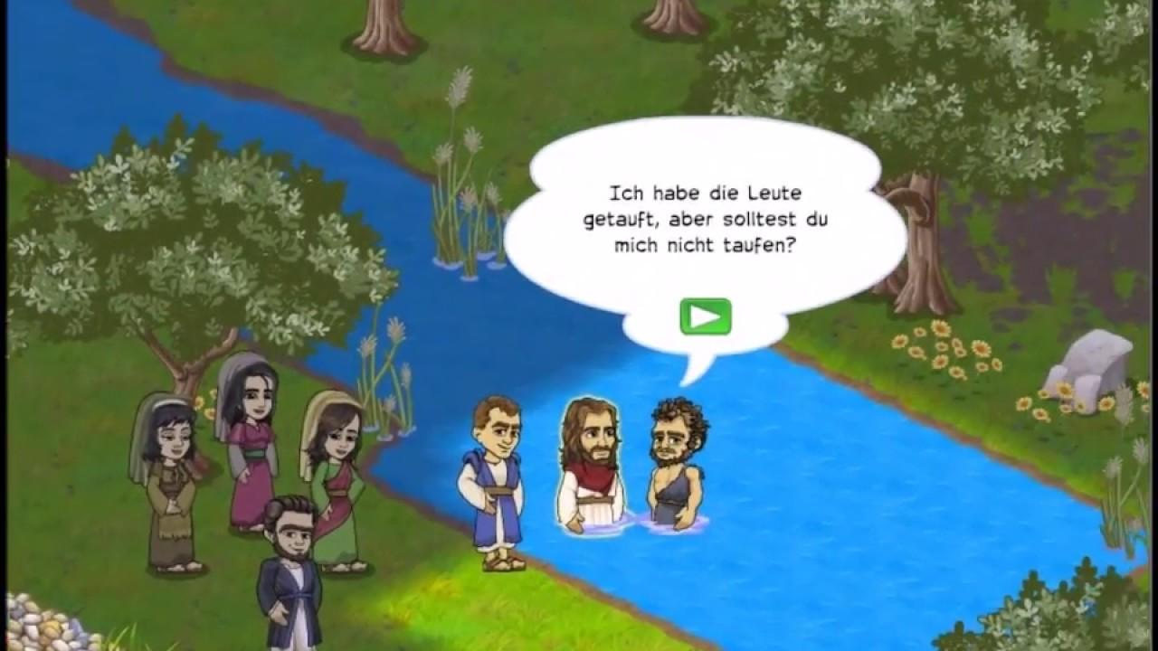 Journey Of Jesus 001 Jordan Taufe 1 Die Taufe Von Jesus Matthäus 313 17 Markus 19 11