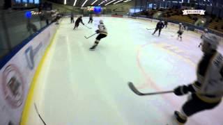 Хоккейный матч от первого лица