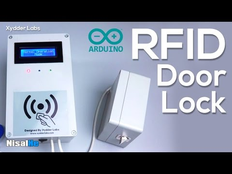 Arduino RFID Door Lock  - Both sides accessible