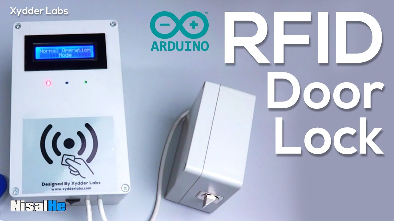 Arduino Rfid Door Lock Both Sides Accessible Youtube