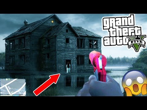 GTA 5 HAUNTED HOUSE FOUND!!! GOING INSIDE! 😱 (GTA 5)