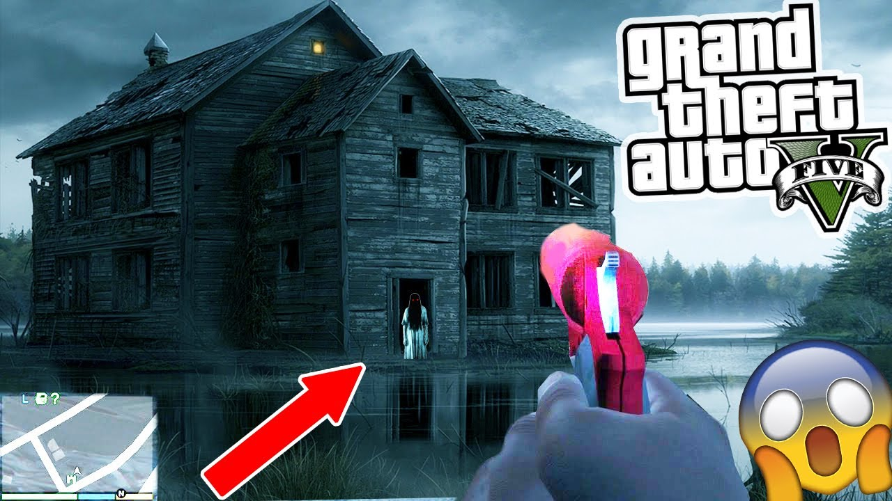 GTA 5 HAUNTED HOUSE FOUND!!! GOING INSIDE! 😱 (GTA 5) – Haunted