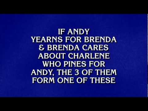 "Jeopardy! - ""Threesome"" Moment [2011 Tournament of Champions]"