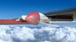 [KARI] 고고도 장기체공 전기동력무인기(EAV-3) CG 애니메이션 이미지