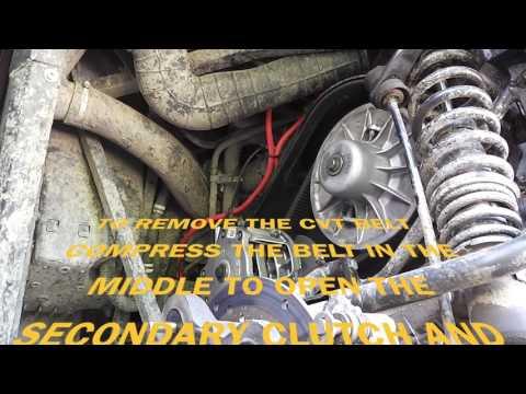 POLARIS RZR 570 CVT BELT CHANGE