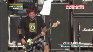 Zebrahead - Playmate Of The Year (Live @ Sumersonic Festival, Japan 2008) Mp3