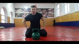 Топ 5 мощных упражнений с гирей - сила, хват, ловкость  !