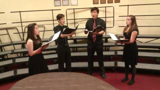 Chamber Singers Quartet: Weep, O Mine Eyes