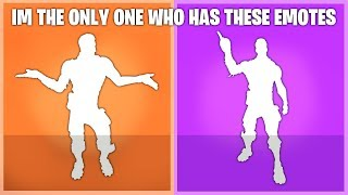 I Have These New Season 5 Dances & Emotes That No One Has In Fortnite Battle Royale..!