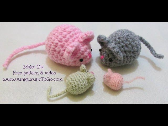 Mini rat pattern (free) – Amigurumi Designs by Dani | 480x640