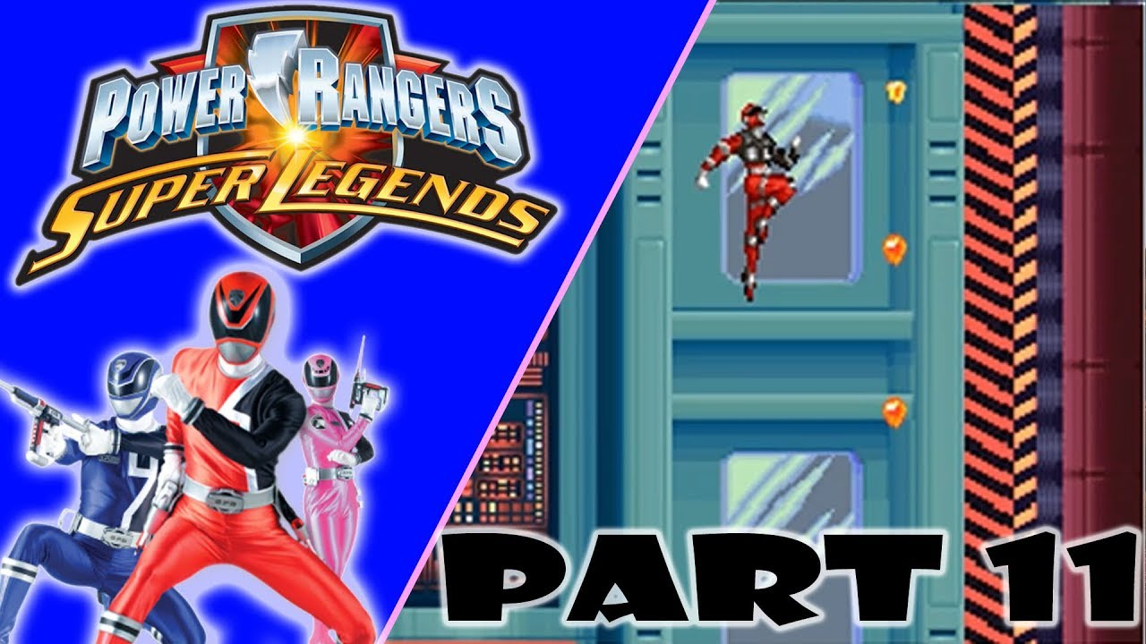 """Power Rangers Super Legends DS (NEW)   Part 11 """"SPD EMERGENCY!!"""""""