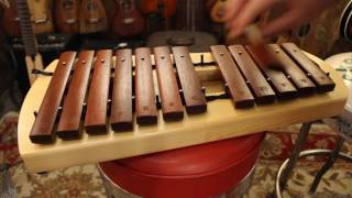 Stagg Small Marimba with interchangeable Tone Bars