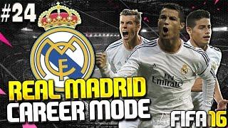 FIFA 16 Real Madrid Career Mode - CL SEMI-FINAL vs BAYERN MUNICH!! #24