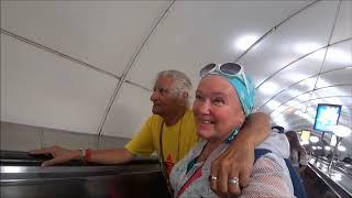 """63. Обед в индийском ресторане """"Кашмир"""" в СПб.  Пьяная женщина в фонтане..."""