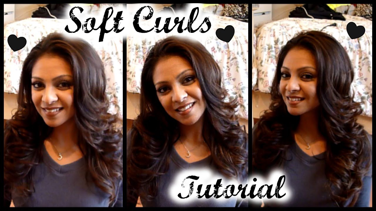 Curls, Layered how to foto