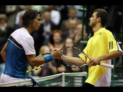 Grigor Dimitrov vs. Rafael Nadal 5-7, 6-3, 2-6 ABN Amro Rotterdam (R16) 11.02.2009.