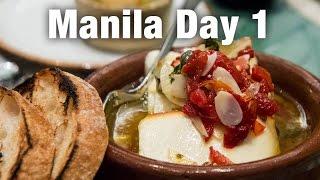 Restaurant Tapenade amp Abe Restaurant Manila Day 1