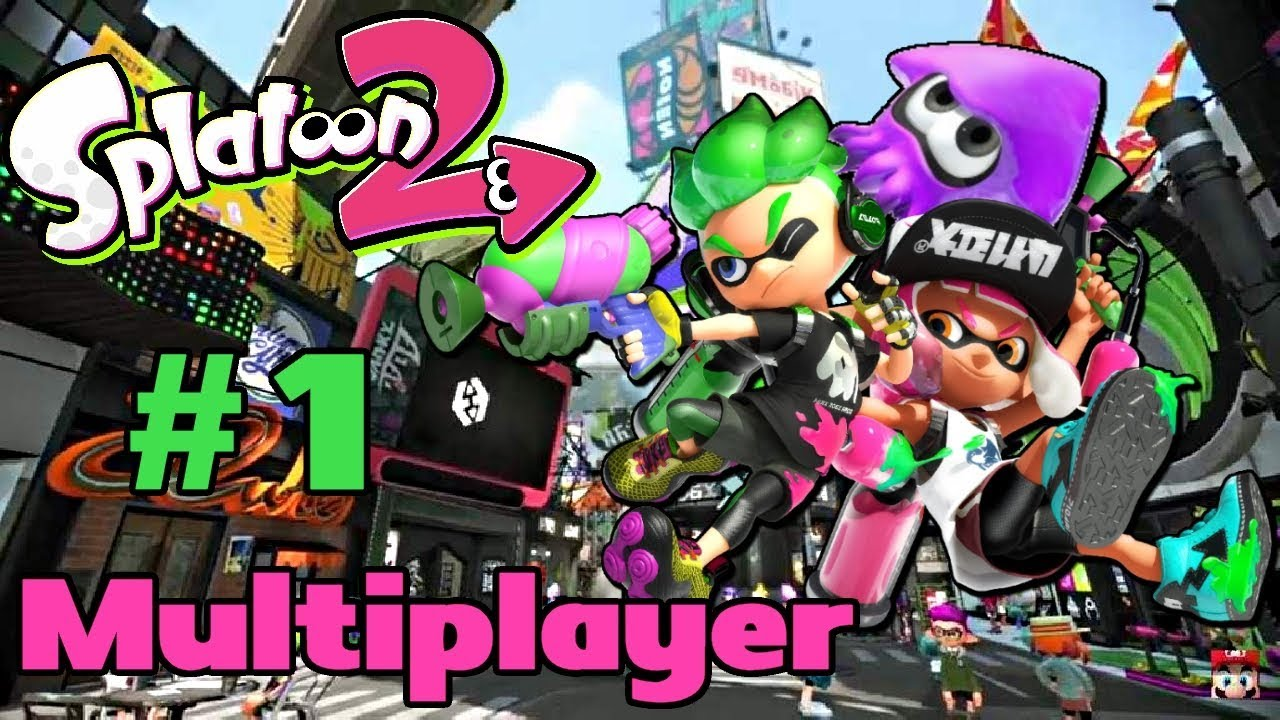 how to play multiplayer on splatoon 2