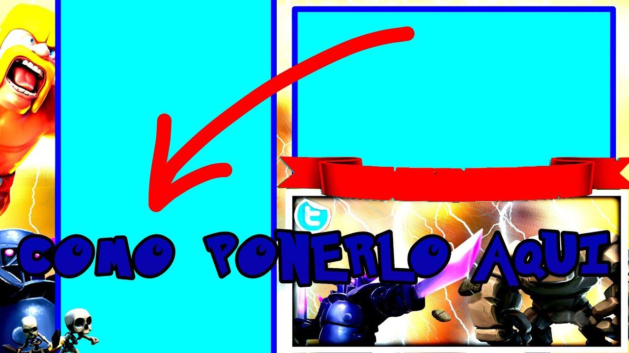 TUTORIAL COMO PONER UN VIDEO DE CLASH ROYALE EN UNA PLANTILLA DESDE ...