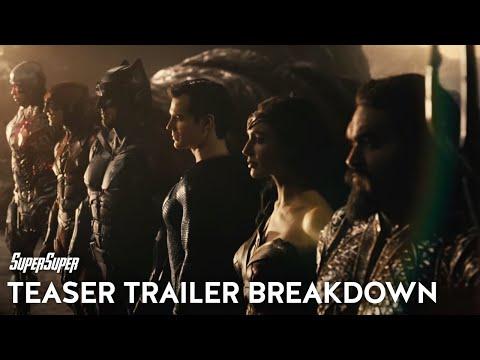 Zack Snyder's Justice League Official Teaser Breakdown   SuperSuper