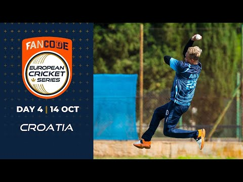 🔴 FanCode European Cricket Series Croatia, Day 4 | T10 Live Cricket