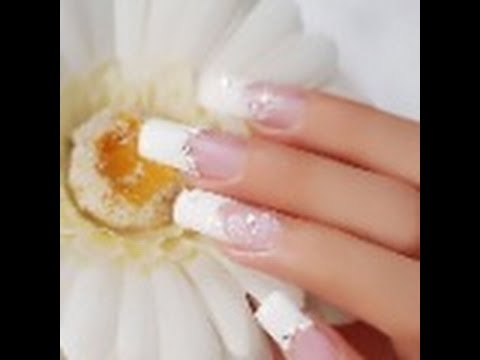 Comment faire sa french manucure au gel uv , tutoriel Nail art Faux ongles