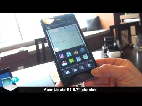 Acer Liquid S1 phablet