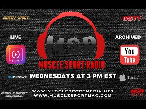 MuscleSport Radio 9/6/17