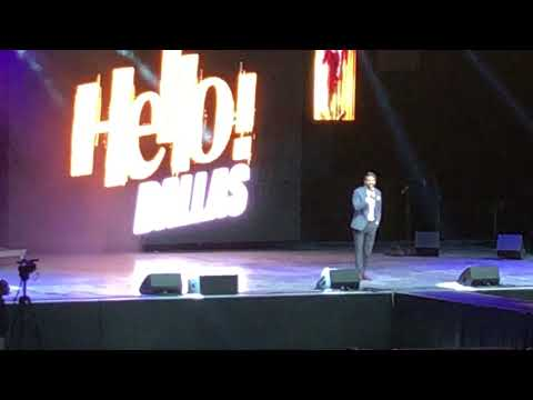 RANA DAGGUBATI ENTRY at AKHIL's HELLO!! DALLAS EVENT.