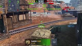 WoT Blitz - легендарный танк Т-34-85 gameplay #3 -World of Tanks Blitz (WoTB)