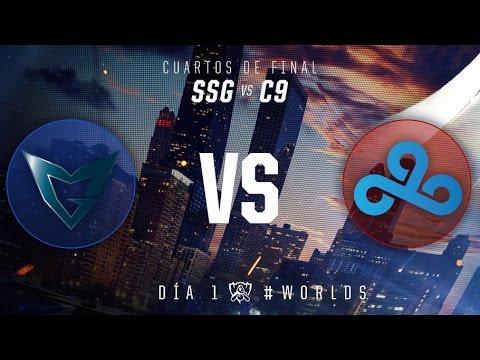 Campeonato Mundial 2016: Cuartos de Final, Día 1 - SSG vs C9
