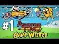 Hora De Aventura Mago De Juegos 1 GAMEPLAY ESPAÑOL AdventureTime Game Wizard
