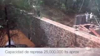 Desarenador para agua de riego agricola