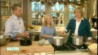 Angie's Kettle Corn On The Martha Stewart Show