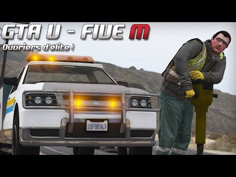 GTA 5 - Law Enforcement Live - Ouvriers d'élite ! (Five M)