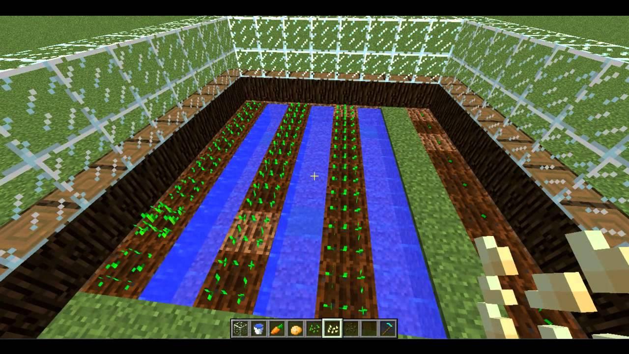Como hacer un invernadero en minecraft youtube - Fabricar un invernadero ...