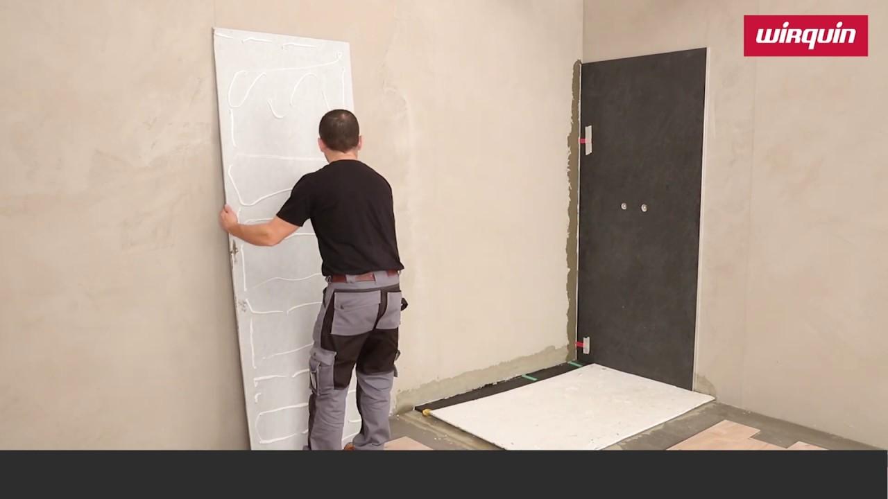 comment poser des panneaux muraux de douche