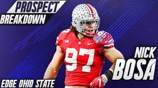 Nick Bosa | EDGE Ohio State | 2019 NFL Draft Prospect Breakdown