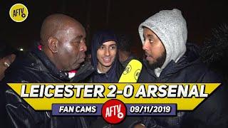Leicester City 2-0 Arsenal | I Hope Emery Gets Sacked Tonight!! (Livz)